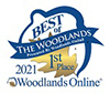The Best of The Woodlands Award Logo